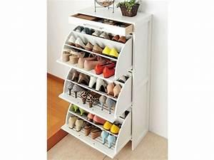 Meuble à Chaussures Original : rangement chaussures prix mini ou faire soi m me ~ Teatrodelosmanantiales.com Idées de Décoration