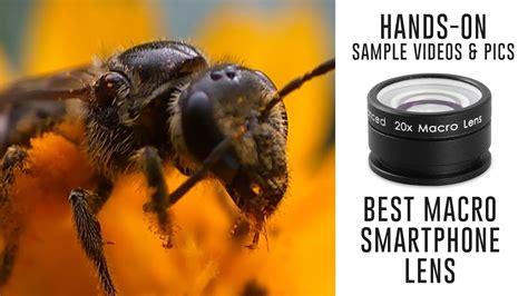macro lens  smartphones sample