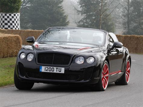 bentley continental supersports isr mulliner package