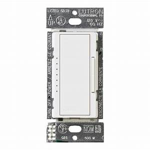 Lutron Maestro 150-watt Single-pole  3-way  Multi-location Digital Cfl-led Dimmer