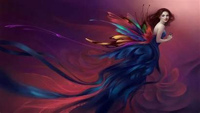 Fairy Fantasy Backgrounds Wallpapers Background Fairies Swirl