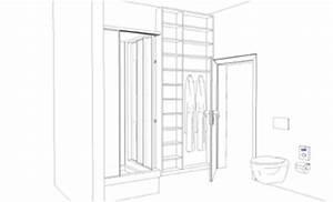 Schrank Vorhang Statt Tür : mini bad wohnen ~ Eleganceandgraceweddings.com Haus und Dekorationen