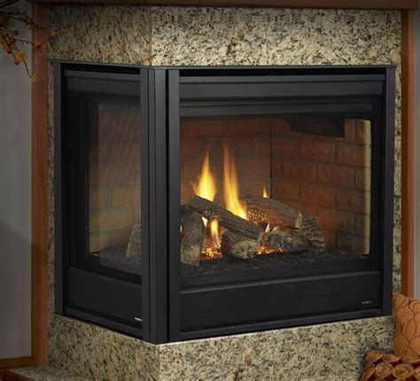 corner gas fireplace gas fireplaces corner series kastle fireplace