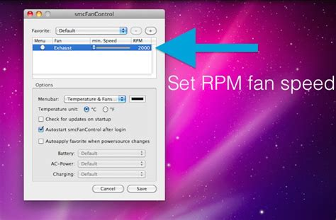 mac fan control app control the fan speed of your mac laptop