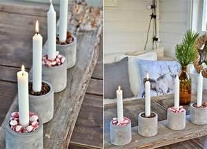 Adventskranz Basteln Modern : moderner adventskranz mit bechern aus beton concrete cement beton pinterest weihnachten ~ Markanthonyermac.com Haus und Dekorationen