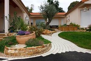 beautiful exemple d amenagement de jardin gallery With exemple d amenagement de jardin