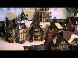 Placing Your Collectible Houses in Your Dept 56 Display