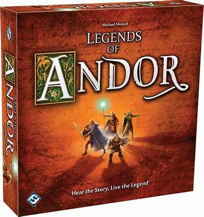 Andor Legends Games Fantasy Board Adventure Flight