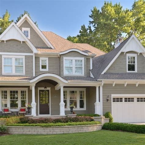 image result for exterior paint gray brown exterior