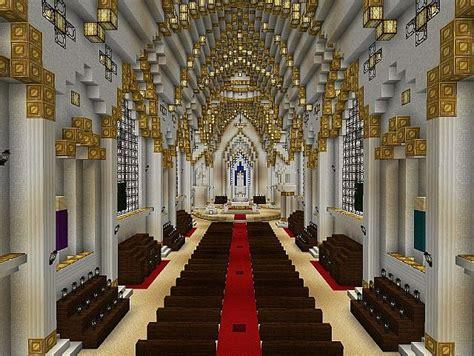 church   lady  lourdes minecraft project