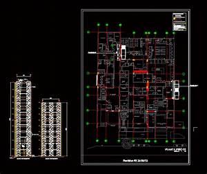 Scaffolding DWG Elevation for AutoCAD • Designs CAD