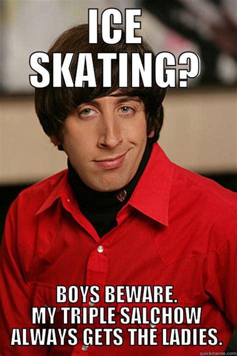 Ice Skating Memes - ice skating finesse quickmeme