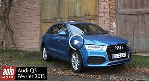 Nouveau Q3 Audi : nouveau audi q3 essai vid o photos et prix auto moto ~ Medecine-chirurgie-esthetiques.com Avis de Voitures