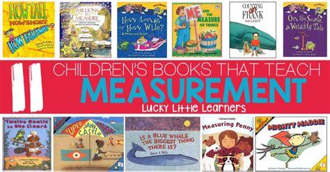 Children's Books That Teach Measurement  Lucky Little