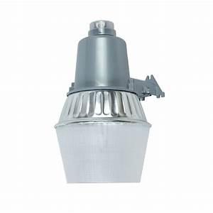 Home Depot Light Fixture Installation 70 Watt Silver Outdoor High Pressure Sodium Area Light