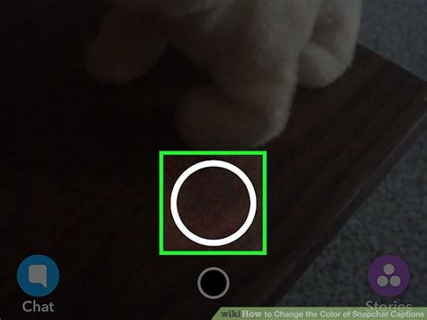 how to change color on snapchat how to change the color of snapchat captions 8 steps