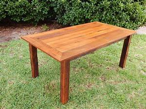 Custom Reclaimed Poplar Dining Table W Matching Bench By