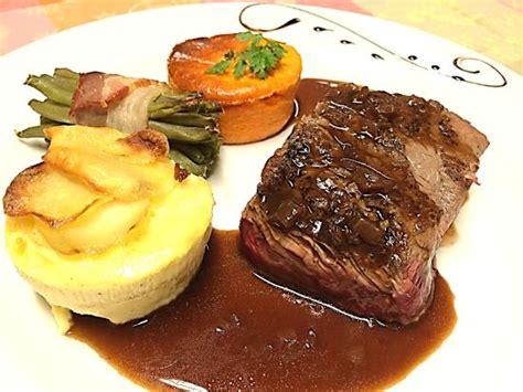 cuisine bordelaise pavé de boeuf sauce bordelaise photo de restaurant le