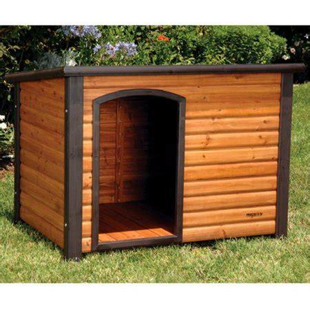 precision outback log cabin dog house walmartcom
