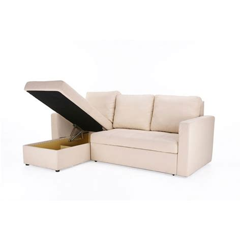buy right furniture buy color left chaise sofa bed with storage at