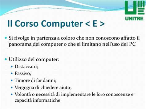 ecdl advanced dispense unitre torino computer e 1 176 livello lezione 1