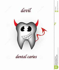 Devil-dental Caries Stock Photos - Image: 35736943
