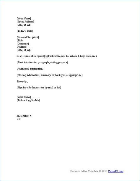 business letter format ideas  pinterest