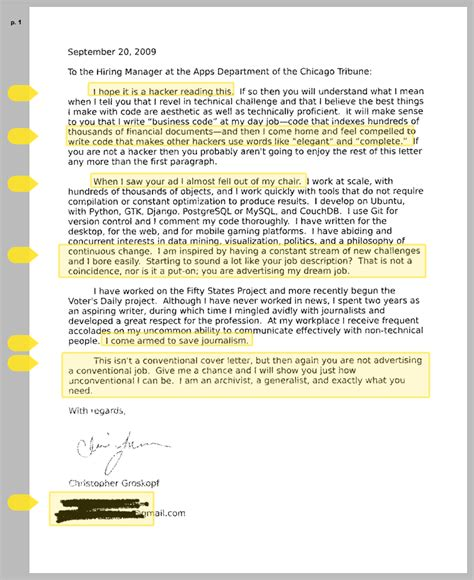 the best cover letter i ve read i it is a hacker reading this chris kick cover letter tribune dataviz