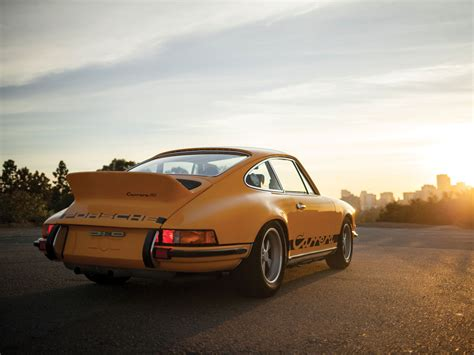 1973 Porsche 911 Carrera Rs 2.7 Touring Pics & Information