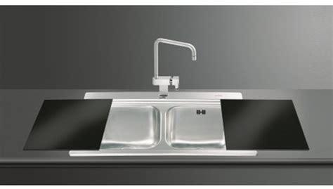 black glass kitchen sinks iris 2 0 bowl sink black glass chopping boards smeg 4676