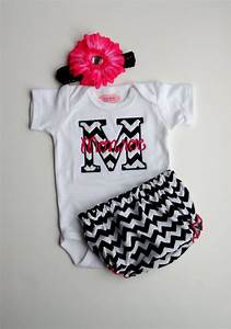 Personalized Baby Girl Clothes Newborn Gril Take Home ...