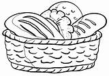 Loaf Coloring Pages sketch template