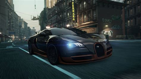 To be most wanted,you'll need to outrun the cops, outside your friends,and outsmart your rivals.with a relentless police force gunning to take you down,you'll need to make split second decision. Need for Speed Most Wanted 2012 Race - Bugatti Veyron 16.4 Super Sport - YouTube
