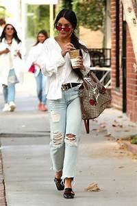 Vanessa Hudgens Urban Fashion - Stops for a Caffeine Fix ...