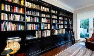 Decorating Bookshelves In Living Room by Inspiring Ways Of Using Library Ladders In The House