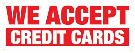 """Select payment management from your account and add your credit card using an us address. 36"""" We Accept Credit Cards Sticker Money Credit Payday Retail Store Sign 