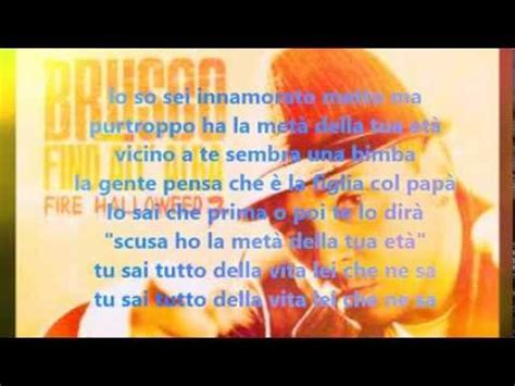 Brusco Testi by Brusco Met 224 Della Tua Et 224 Testo