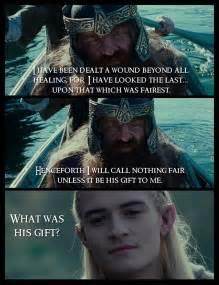 Legolas and Gimli Quotes