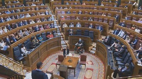 Los letrados del congreso apuntan. Vídeo: La moción de censura de Vox y el lleno de la banca socialista eclipsan el Pleno
