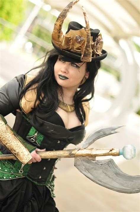 Steampunk Lady Loki Could Diy The Horns For This