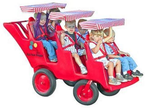 6 seat slim tire bye bye buggy bb 6400 daycare strollers 363   BB 6400