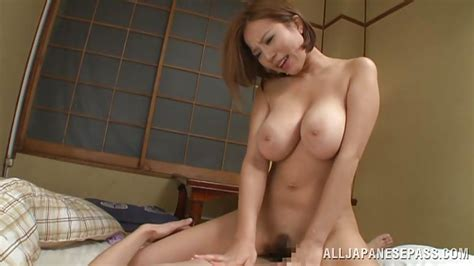Ruri Saijoh In Big Breasted Japanese Slut Rides Her Man S