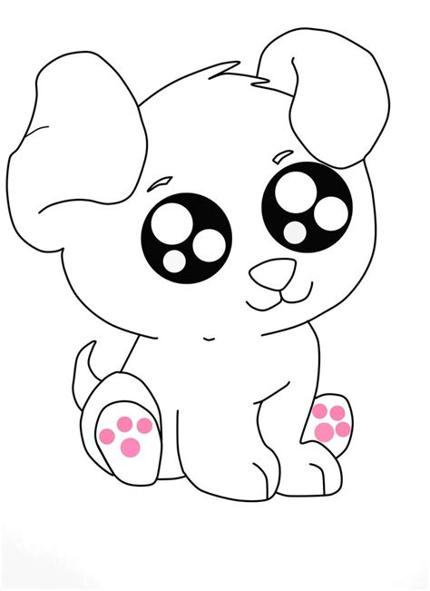 cute dog drawing pictures