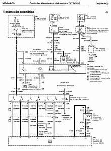 Esquemas El U00e9ctricos  Controles Electr U00f3nicos Motor Zetec