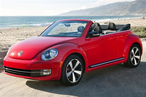 volkswagen beetle red convertible used 2013 volkswagen beetle for sale pricing features