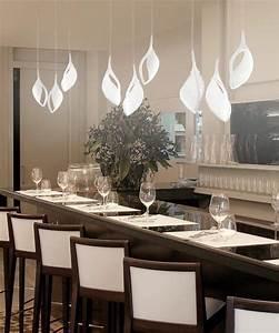 Lampadario Moderno Su Tavolo Moderno ~ Tutte le Immagini per la Progettazione di Casa e le Idee
