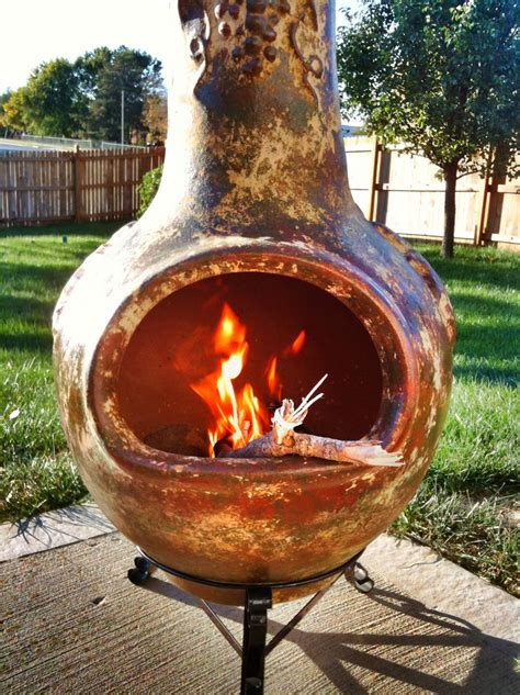 chiminea clay outdoor fireplace guidelines to purchasing a clay chiminea