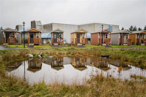 tiny home communities tiny house villages the next big housing trend living big in a tiny house