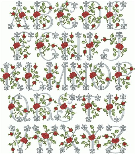 royal rose font