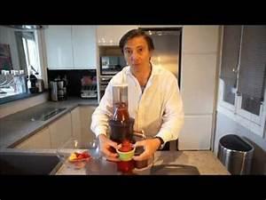 Jus Avec Extracteur : sorbet sans sucre sans cr me avec l 39 extracteur de jus bee 240 youtube ~ Melissatoandfro.com Idées de Décoration